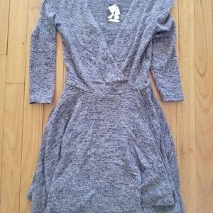 Urban Outfitters grey skater dress new XS
